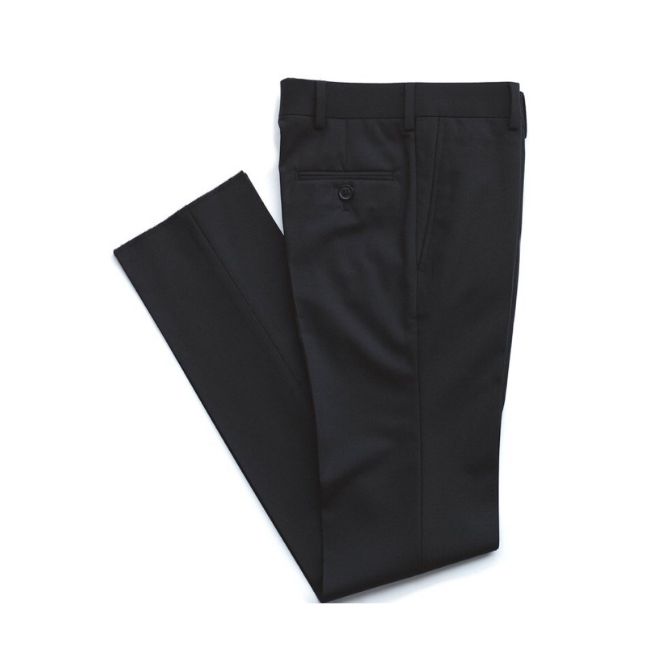 Tallia black wool pant
