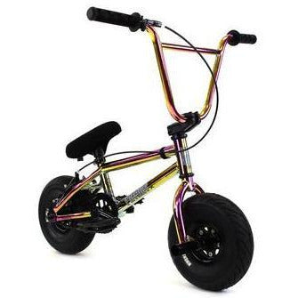 "FatBoy | Pro 10"" Mini BMX Bike - Warhead X Oil Slick Black, Bike, FatBoy 