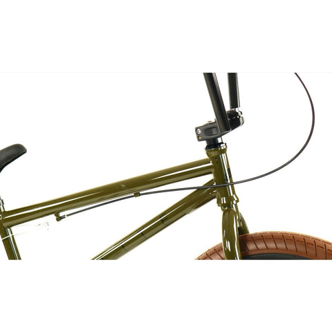 Elite BMX Destro Army Green, Bike, Brooklyn Fixed Gear | Brooklyn Fixed Gear and Single Speed Bikes