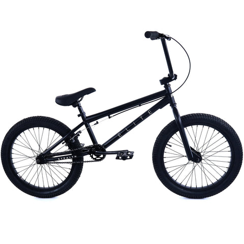 Elite BMX Stealth Black, Bike, Brooklyn Fixed Gear | Brooklyn Fixed Gear and Single Speed Bikes