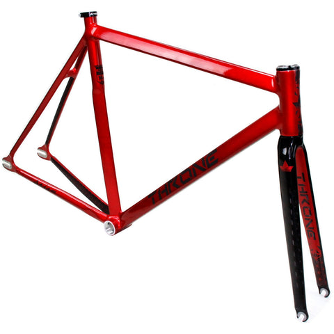Throne Cycles | Red Prism Fixed Gear Track Frameset, Part, Throne | Brooklyn Fixed Gear and Single Speed Bikes