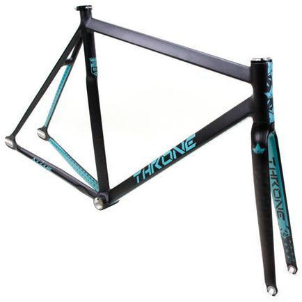 Throne Cycles | Turquoise Prism Fixed Gear Track Frameset, Part, Throne | Brooklyn Fixed Gear and Single Speed Bikes