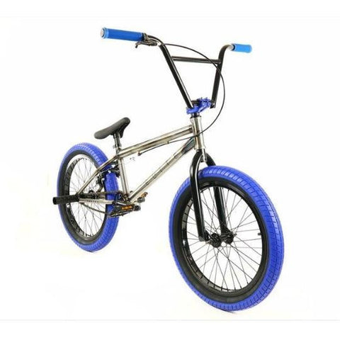 Elite BMX Destro Raw Blue, Bike, Brooklyn Fixed Gear | Brooklyn Fixed Gear and Single Speed Bikes