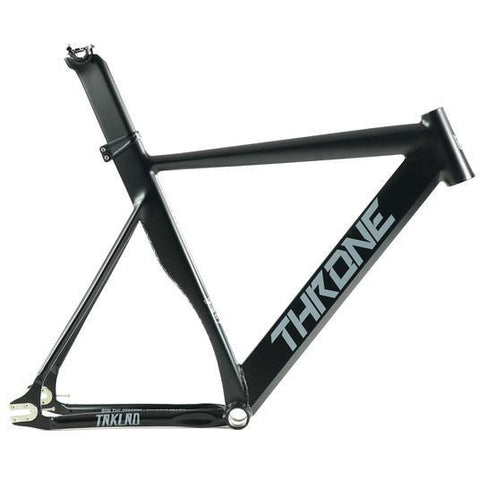 Throne Cycles | 2018 TRKLRD (Track Lord) Black Aluminum Frame, Part, Throne | Brooklyn Fixed Gear and Single Speed Bikes