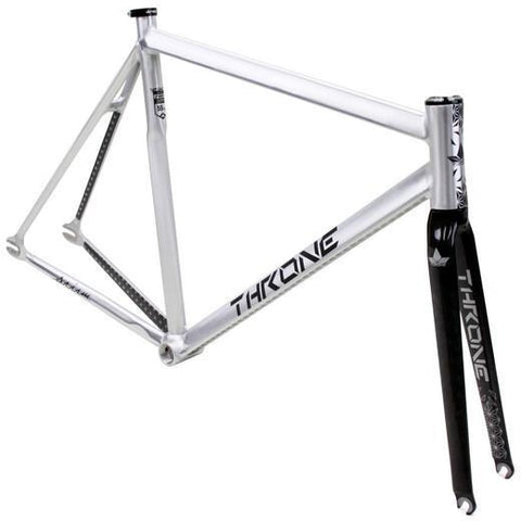 Throne Cycles | Silver Prism Fixed Gear Track Frameset, Part, Throne | Brooklyn Fixed Gear and Single Speed Bikes