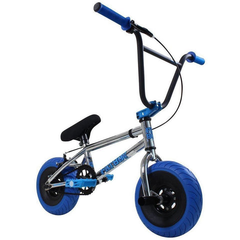 "FatBoy | Pro 10"" Mini BMX Bike - Tomahawk X Blue Chrome, Bike, FatBoy 