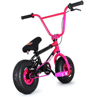 "FatBoy | Stunt 10"" Mini BMX Bike - Hell Cat Pink Black, Bike, FatBoy 