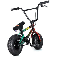 "FatBoy | Stunt 10"" Mini BMX Bike - Smoke Bomb Green Red Yellow, Bike, FatBoy 
