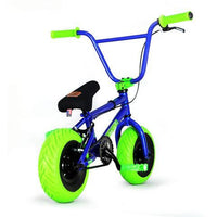 "FatBoy | Stunt 10"" Mini BMX Bike - Atomic X Blue Green, Bike, FatBoy 