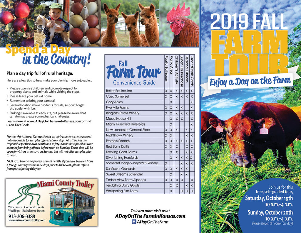 Miami County Fall Farm Tour 2019