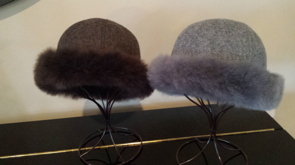 Hat-Fit for a Queen Royal Alpaca Fur Hat