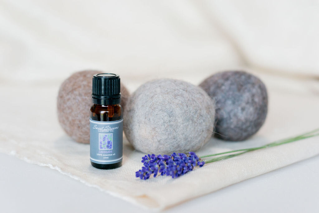 The Perfect Gift!  Dryer Balls and Lavender essential oil