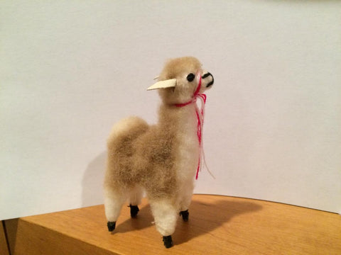 Mini Vicuna Figure