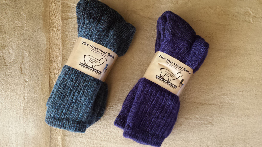 Survival Socks in Color Best Sellers!