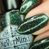 NeVerMind nail polish - dance all night