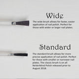 nevermind polish wide brush info