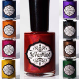 Holophilia Collection - NeVerMind Polish Nail Polish - Holographic Glitter  Crelly  Jelly Gift