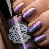Furfur - NeVerMind Polish Nail Polish - Holographic Glitter  Crelly  Jelly Gift