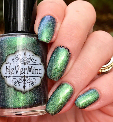 Aamon - NeVerMind Polish Nail Polish - Holographic Glitter  Crelly  Jelly Gift