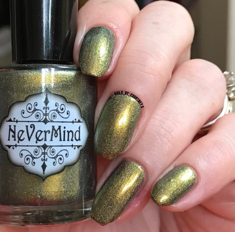 Buer - NeVerMind Polish Nail Polish - Holographic Glitter  Crelly  Jelly Gift