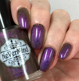 Stolas - NeVerMind Polish Nail Polish - Holographic Glitter  Crelly  Jelly Gift