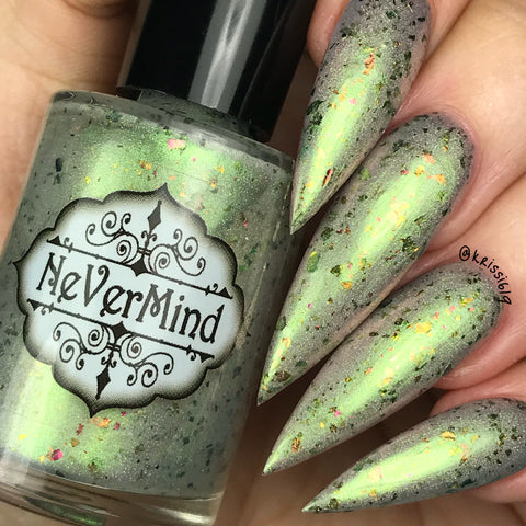 Chimera's Curse - NeVerMind Polish Nail Polish - Holographic Glitter  Crelly  Jelly Gift