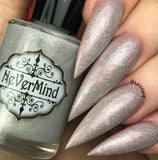 Seraphim Sword - NeVerMind Polish Nail Polish - Holographic Glitter  Crelly  Jelly Gift
