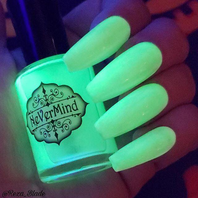 Ectoplasm - NeVerMind Polish Nail Polish - Holographic Glitter  Crelly  Jelly Gift