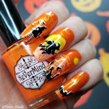 Electric Pumpkins - NeVerMind Polish Nail Polish - Holographic Glitter  Crelly  Jelly Gift