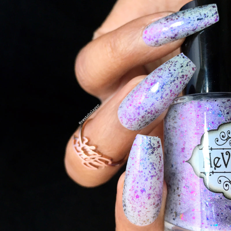 Passion Pixie - NeVerMind Polish Nail Polish - Holographic Glitter  Crelly  Jelly Gift