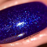 Winter's Eve - NeVerMind Polish Nail Polish - Holographic Glitter  Crelly  Jelly Gift