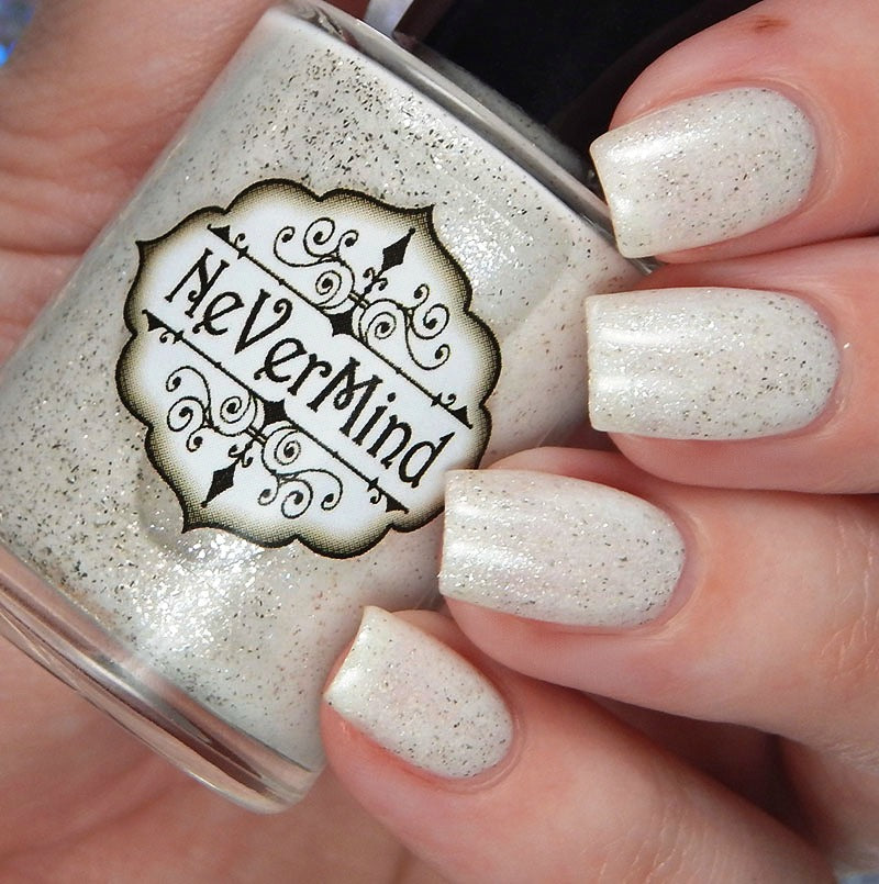 Makers Dozen - Icing on the Cake - NeVerMind Polish Nail Polish - Holographic Glitter  Crelly  Jelly Gift