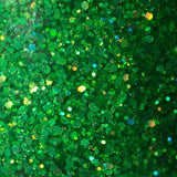 Nephrite - NeVerMind Polish Nail Polish - Holographic Glitter  Crelly  Jelly Gift