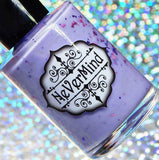 Makers Dozen - Marvelous Mad Madam - NeVerMind Polish Nail Polish - Holographic Glitter  Crelly  Jelly Gift