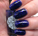 Murder of Crows - NeVerMind Polish Nail Polish - Holographic Glitter  Crelly  Jelly Gift