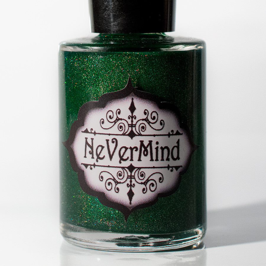 Xylophilia - NeVerMind Polish Nail Polish - Holographic Glitter  Crelly  Jelly Gift