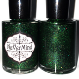 Dost Thou Comprehend? - NeVerMind Polish Nail Polish - Holographic Glitter  Crelly  Jelly Gift