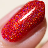 Hadephilia - NeVerMind Polish Nail Polish - Holographic Glitter  Crelly  Jelly Gift