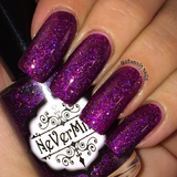 My Garden of Magic - NeVerMind Polish Nail Polish - Holographic Glitter  Crelly  Jelly Gift