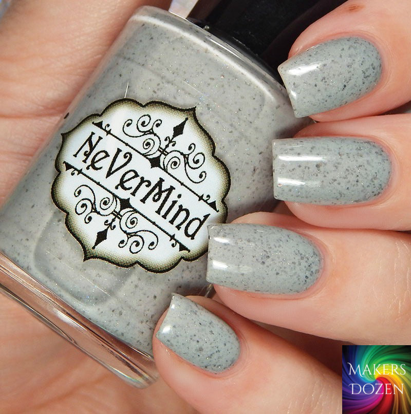 Makers Dozen - Gargoyles of Notre Dame - NeVerMind Polish Nail Polish - Holographic Glitter  Crelly  Jelly Gift