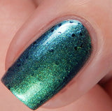 Makers Dozen - Sea Horsin' Around - NeVerMind Polish Nail Polish - Holographic Glitter  Crelly  Jelly Gift