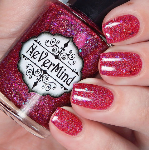 Makers Dozen - Talk Birdy to Me - NeVerMind Polish Nail Polish - Holographic Glitter  Crelly  Jelly Gift