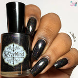Gutter Glitter - NeVerMind Polish Nail Polish - Holographic Glitter  Crelly  Jelly Gift