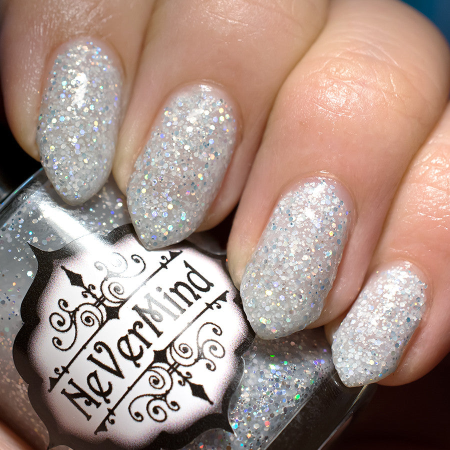 Moonstone - NeVerMind Polish Nail Polish - Holographic Glitter  Crelly  Jelly Gift