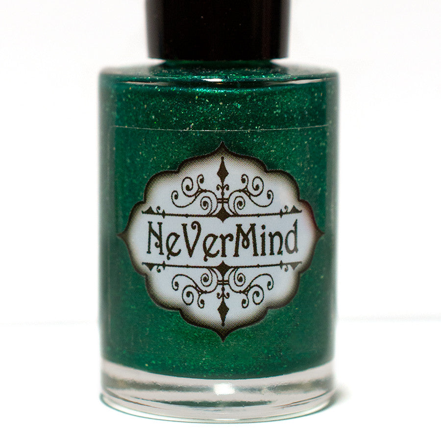 Princess Ozma (The Color Box - Green) - NeVerMind Polish Nail Polish - Holographic Glitter  Crelly  Jelly Gift