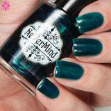 PRE-ORDER Ooze - NeVerMind Polish Nail Polish - Holographic Glitter  Crelly  Jelly Gift