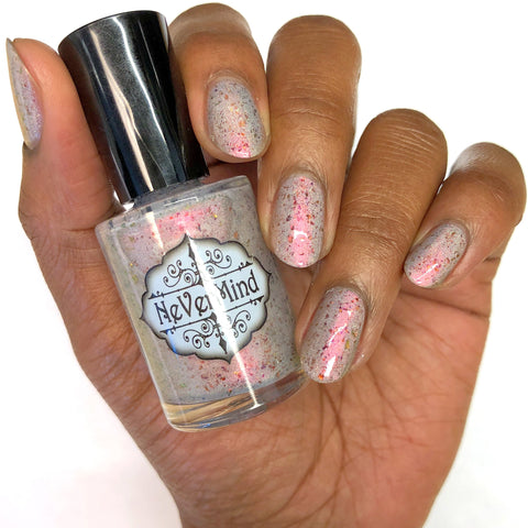 Phoenix Fire - NeVerMind Polish Nail Polish - Holographic Glitter  Crelly  Jelly Gift