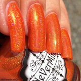 Pyrophilia - NeVerMind Polish Nail Polish - Holographic Glitter  Crelly  Jelly Gift