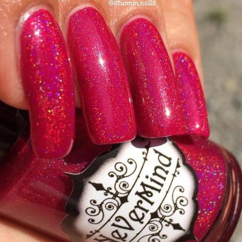 Philophilia - NeVerMind Polish Nail Polish - Holographic Glitter  Crelly  Jelly Gift