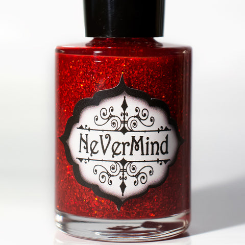 Cuprite - NeVerMind Polish Nail Polish - Holographic Glitter  Crelly  Jelly Gift